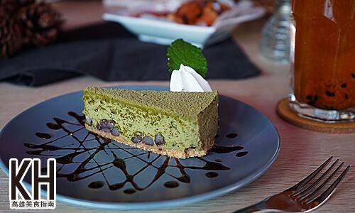 《暖暖輕食坊》抹茶重乳酪蛋糕