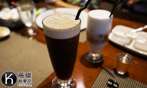 《A-STEAK》套餐紅茶、咖啡
