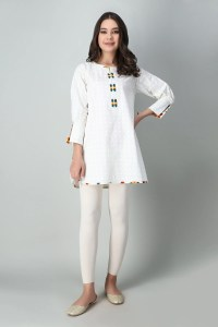 Khaadi ETP20361 WHITE Pret