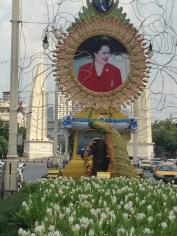 タイの国王妃の写真と