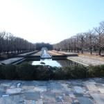 昭和記念公園 入り口の噴水