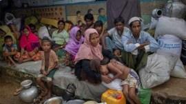 ભારત-બાંગ્લાદેશ સીમા પર ફસાયેલા રોહિંગ્યા જેલમાં ધકેલાયા