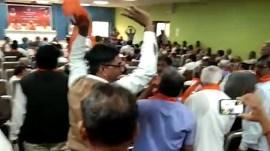 BJPના મહામંત્રી કે.સી.પટેલ સામે સૂત્રોચ્ચાર કેમ થયા? રાજકારણ કે APMCનું કારણ