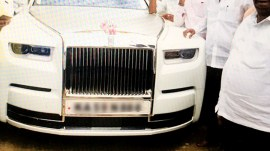 કોંગ્રેસમાંથી રાજીનામું આપનારા ધારાસભ્યએ 11 કરોડની કાર ખરીદી