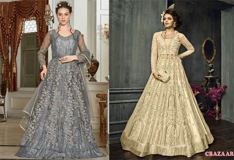 13 Best Anarkali Lehengas from CBAZAAR