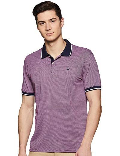 Allen Solly Men's Solid Regular Fit T-Shirt (3)