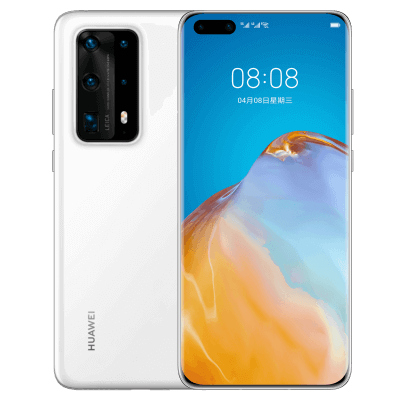 HUAWEI P40 Pro+ 5G Full Netcom 8GB+256GB (Ceramic White)