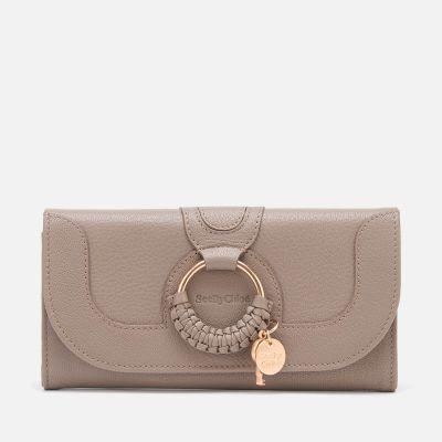 See By Chloé Women's Hana Large Wallet - Motty Grey