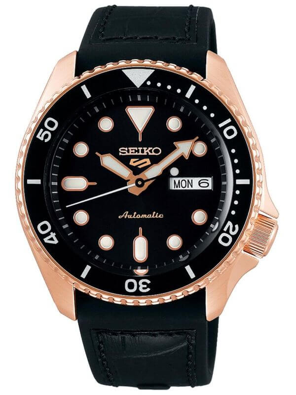 Seiko SRPD76K1 5 Sports automatic men's 43mm 10ATM
