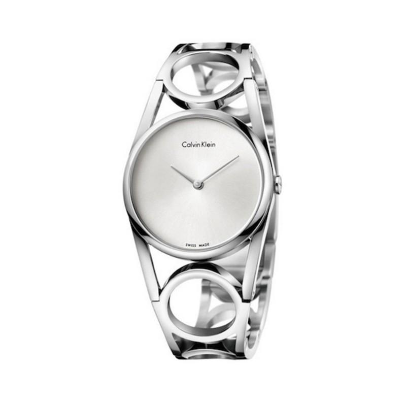 Women's Silver Bangle Style Watch
