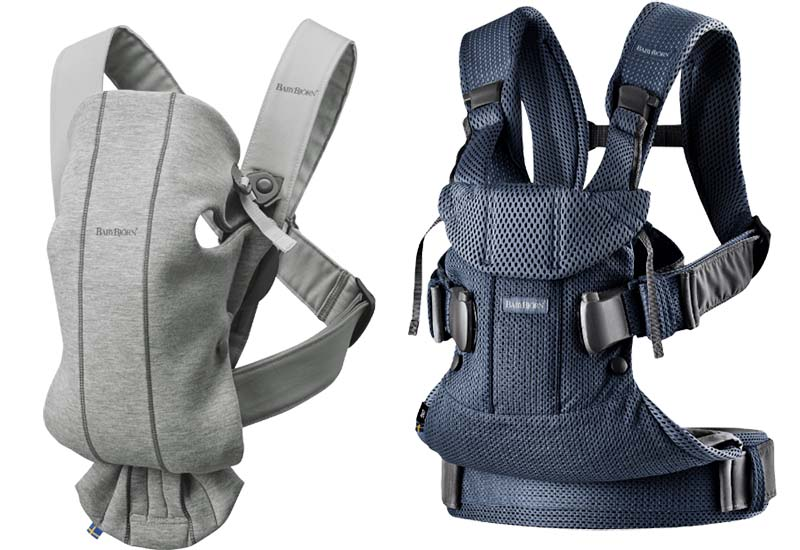 4 Bestseller Baby Carriers from BABYBJÖRN