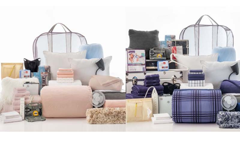 6 Value Paks Bedding and Bath Set from OCM