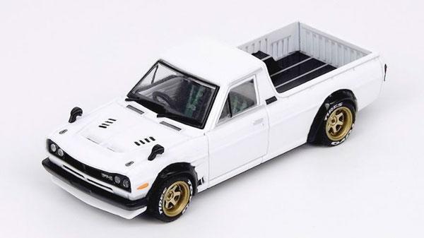 1/64 Nissan Sunny Truck HAKOTORA White [INNO Models]