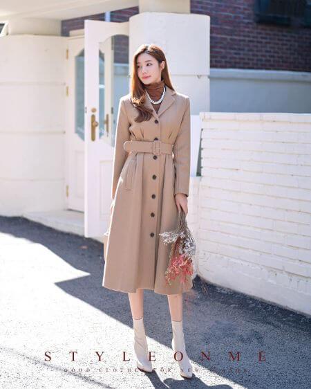 Audrey Button Up Dress