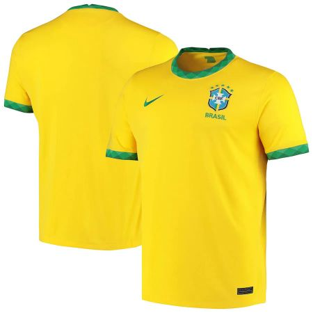 Brazil Home Stadium Shirt