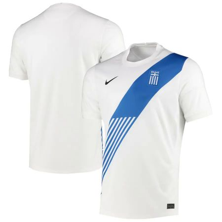 Greece Home Stadium Shirt 2020-21