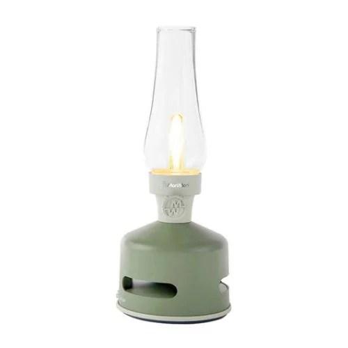 LED lantern speaker green