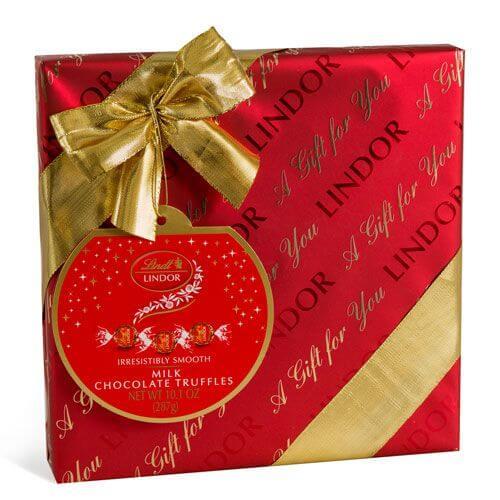 Milk Holiday LINDOR Gift Wrapped Box (22-pc, 10.1 oz)