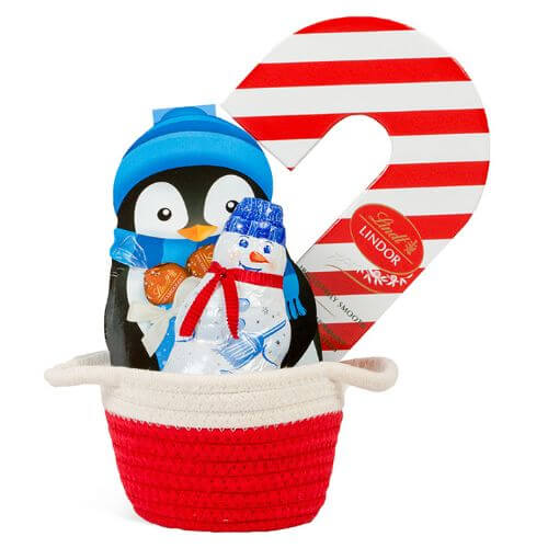 Small Holiday Delights Gift Basket