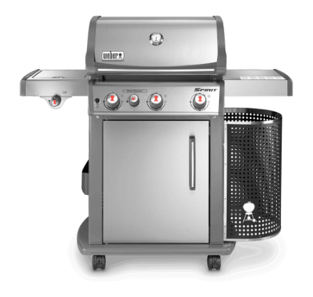 Spirit Premium S-330 GBS - stainless steel gas grill