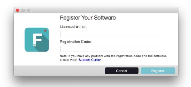 register your software