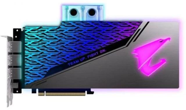 Видеокарта Gigabyte PCI-E GV-N208SAORUS WB-8GC nVidia GeForce RTX 2080SUPER 8192Mb 256bit GDDR6 1860