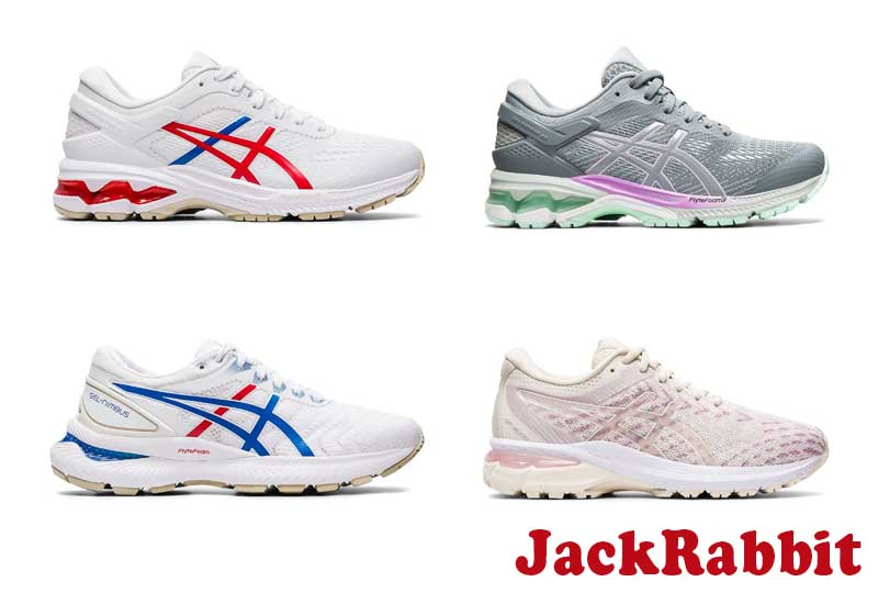 10 Best Selling ASICS Running Shoes from JackRabbit