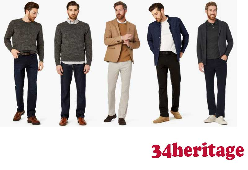 16 Best Selling Mens Denim and Pants from 34heritage