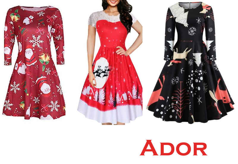19 Best Selling Christmas Dresses from Ador