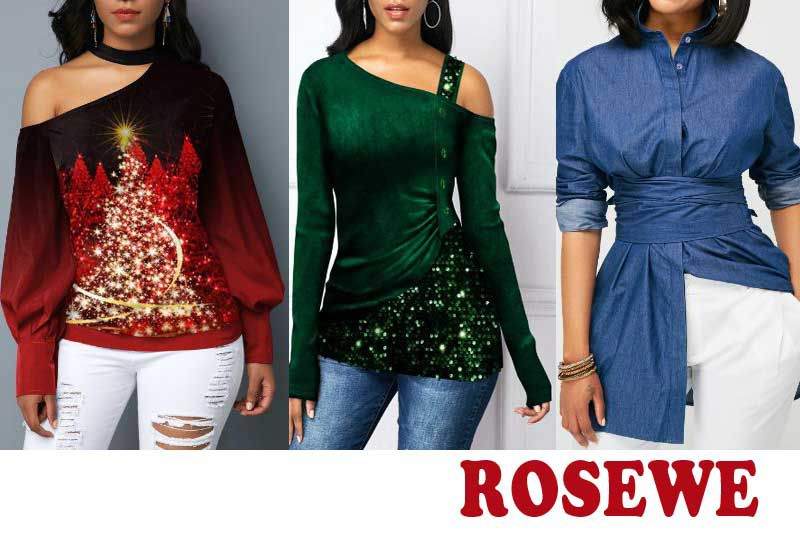 20 Best Selling Tops from Rosewe