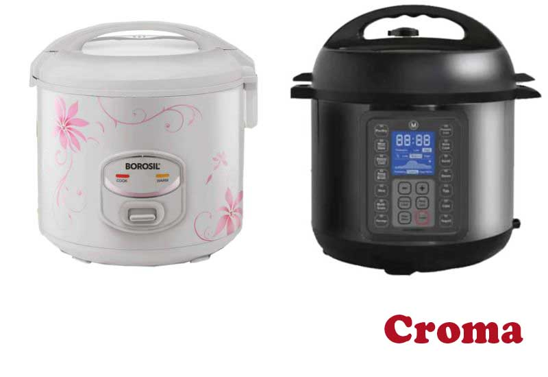 4 Best Selling Rice Cookers from Croma