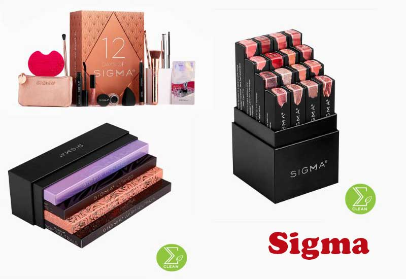 8 Best Selling Holiday Sets from Sigma