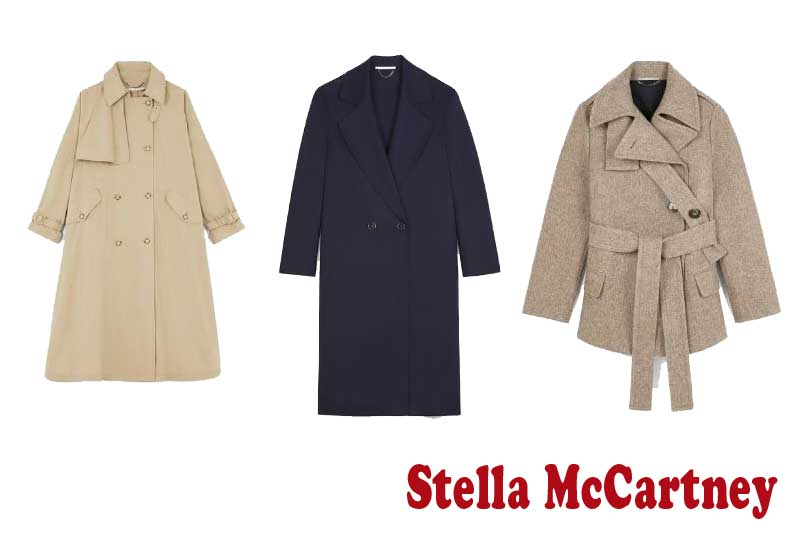 9 Best Women Coats and Jackets from Stella McCartney