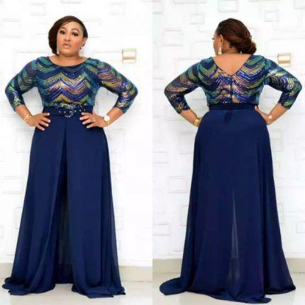 African Clothing For Women 2020 Design Bazin Dashiki For Lady Jumpsuit Elegant Stylish Jumpsuit Female Overalls Africa Clothing