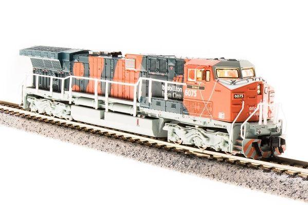 Broadway Limited 3743 N BHP Iron Ore GE AC6000 Diesel Loco Paragon3