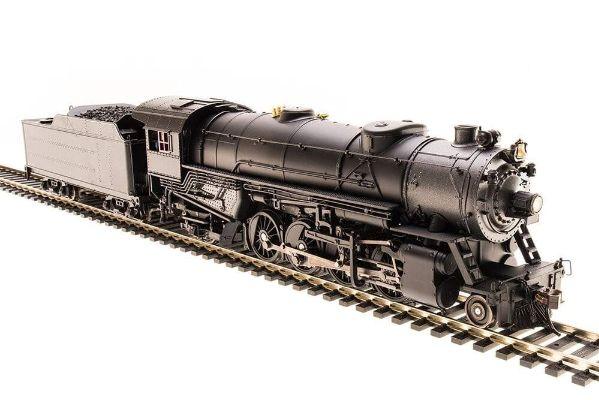 Broadway Limited 4651 HO Unlettered USRA Heavy Mikado Steam Locomotive