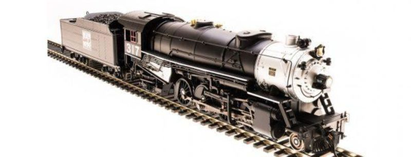 Broadway Limited 5560 HO Western Pacific 2-8-2 Heavy Mikado with Sound