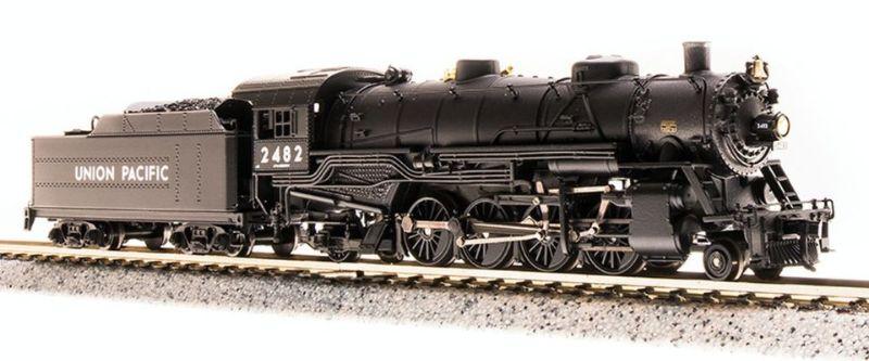 Broadway Limited 5729 N Union Pacific USRA Light Mikado Steam Loco Sound