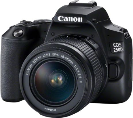 CANONEOS 250D DSLR Camera with EF-S 18-55 mm