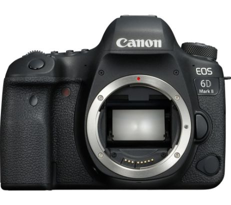 CANONEOS 6D Mark II DSLR Camera - Body Only