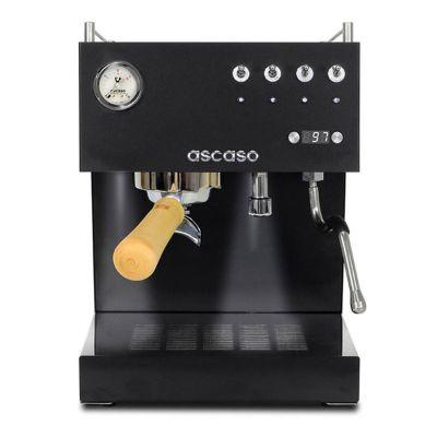 COFFEE MAKER ASCASO STEEL DUO PID BLACK & WOOD