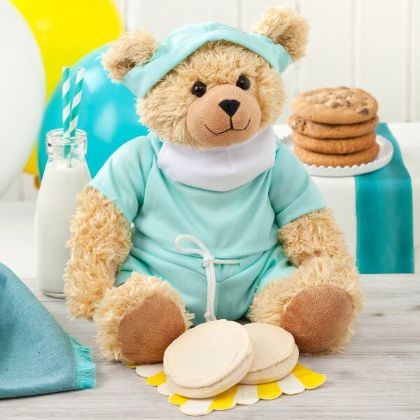 Feel Better Bear with Cookies