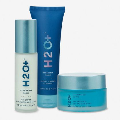 HYDRATION OASIS - RADIANT 3-STEP - Includes Cleanser + Serum + Moisturizer.
