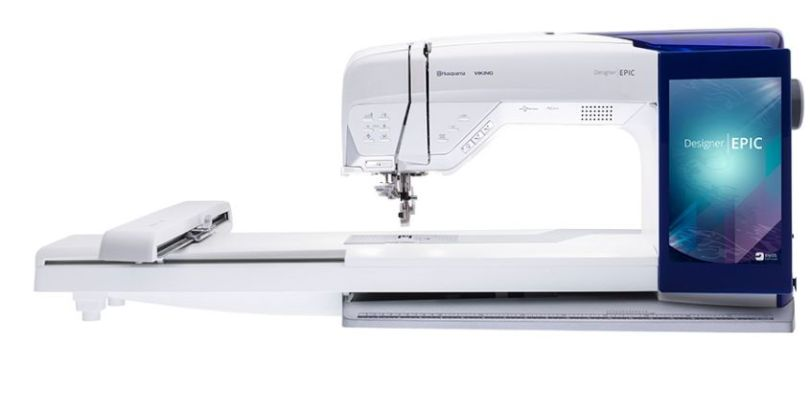 Husqvarna Viking Designer Epic Sewing and Embroidery Machine