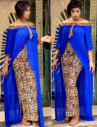 Plus Size Clothing Autumn Sexy Leopard Printed Dashiki African Dresses for Women Party Half Sleeve Slash Neck Femme Robe
