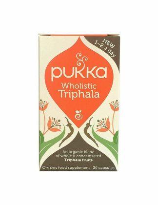 Pukka Herbs Wholistic Triphala - 30 Capsules