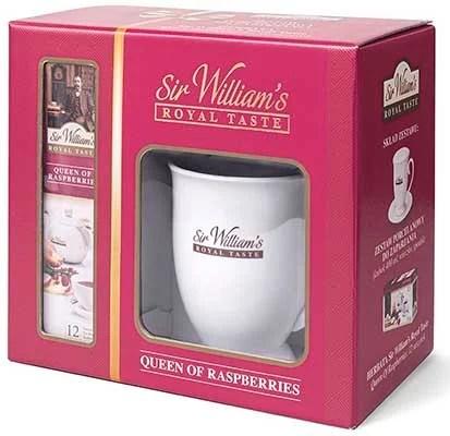 SIR WILLIAMS ROYAL TASTE QUEEN OF RASPBERRIES TEA SET