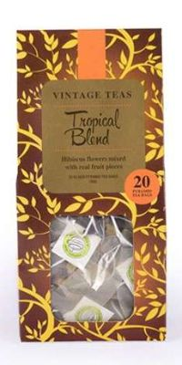 VINTAGE TEAS TROPICAL BLEND FRUIT TEA