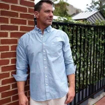 Water Landing Oxford Shirt