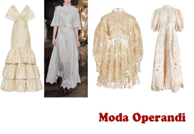 10 Awesome Dresses for Bride from Moda Operandi